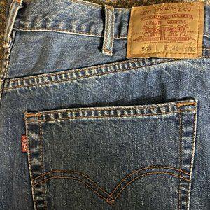 Levis 504 Mens Light Blue Jeans W40 (L30 aprox TRI